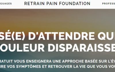 Retrain Pain – site référence sur l'éducation à la douleur