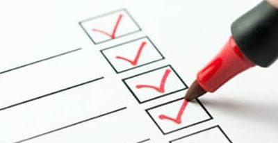 Questionnaire de satisfaction en salle d'attente